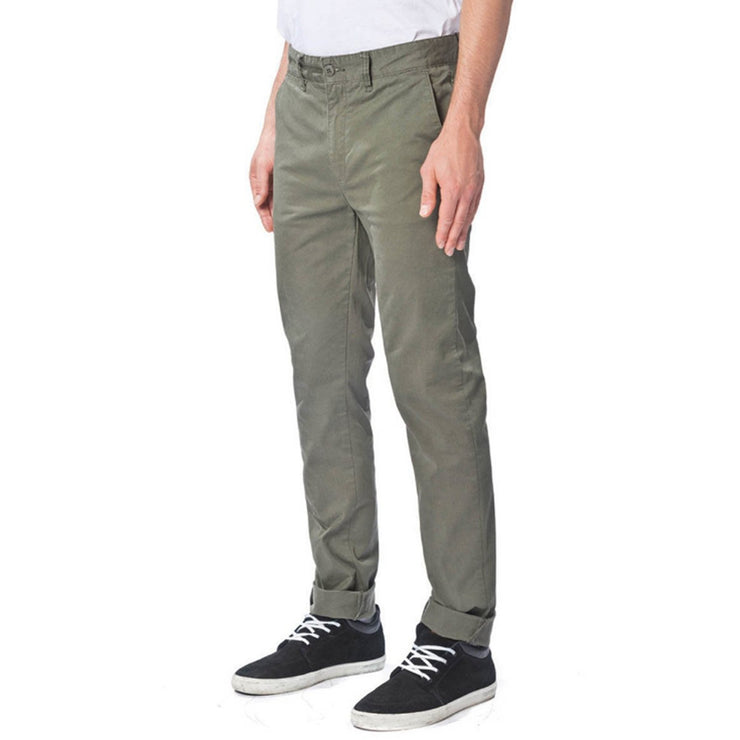 Surf Shop, Surf Clothing, Globe, Goodstock Chino, Pants, Woodland Green