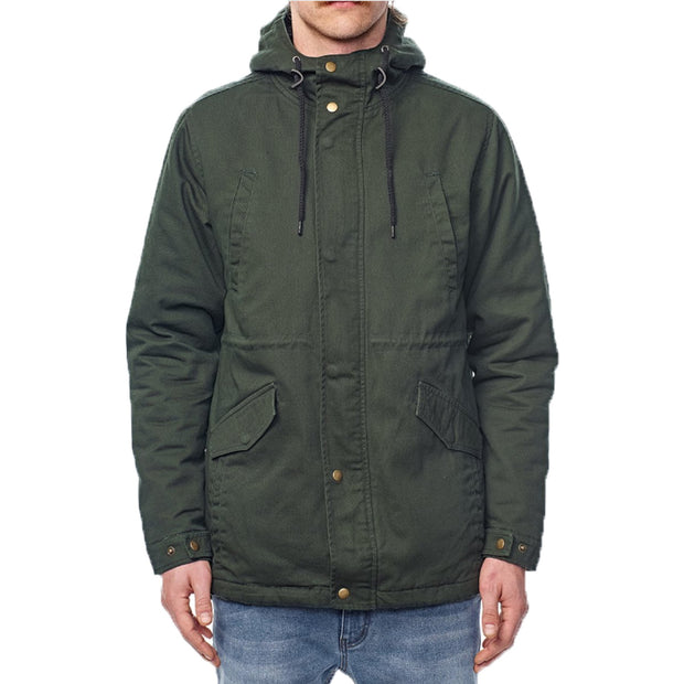 Surf Shop, Surf Clothing, Globe, Goodstock Thermal Fishtail, Jackets, Combat