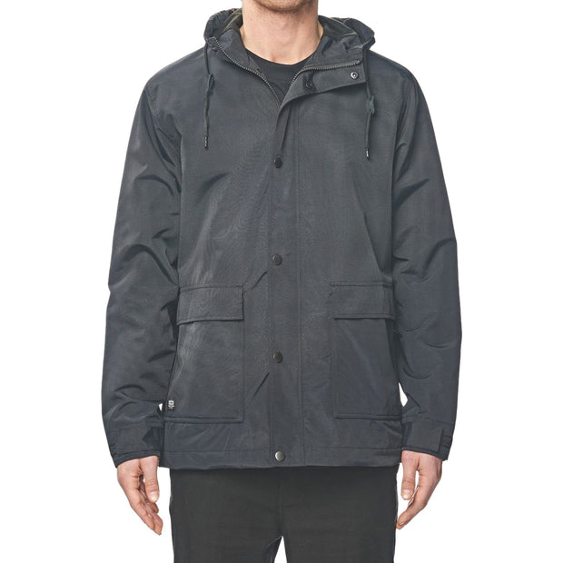 Surf Shop, Surf Clothing, Globe, Goodstock Thermal Utility Jacket, Jackets, Black