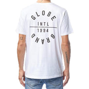 Surf Shop, Surf Clothing, Globe, I.D. Tee, Tshirt, White