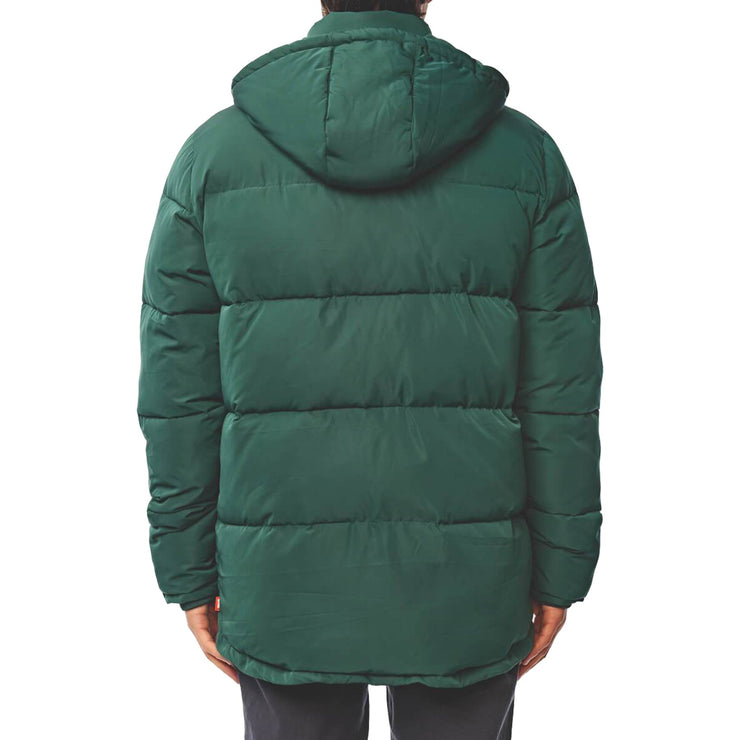 Surf Shop, Surf Clothing, Globe, Ignite Puffer Jacket, Jackets, Bottle Green