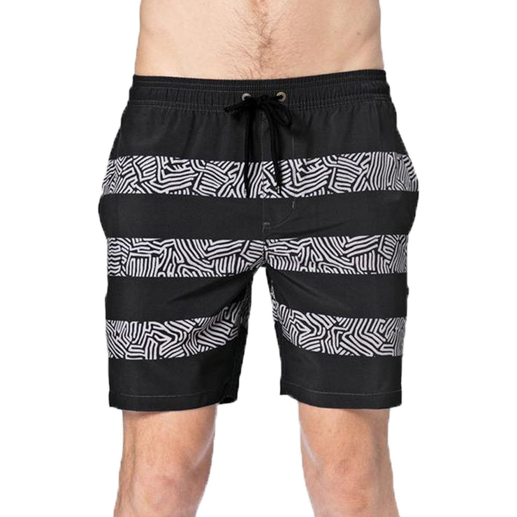 Surf Shop, Surf Clothing, Globe, Labyrinth Poolshort, Shorts, Washed Black