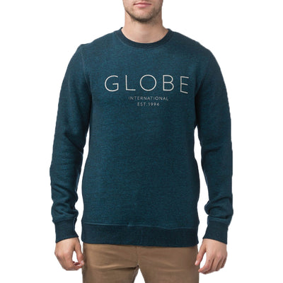 Surf Shop, Surf Clothing, Globe, Mod Crew IV, Sweatshirts, Cosmic Blue