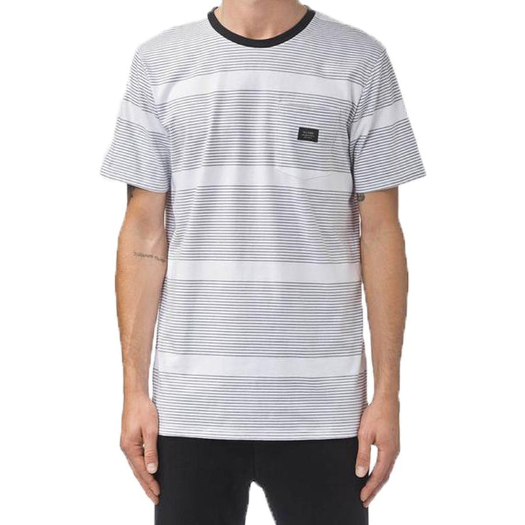Surf Shop, Surf Clothing, Globe, Moonshine Pocket Tee, Tshirt, Black Stripe
