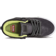 Surf Shop, Surf Clothing, Globe, Motley Mid-Kids, Shoes, Battleship/Lime
