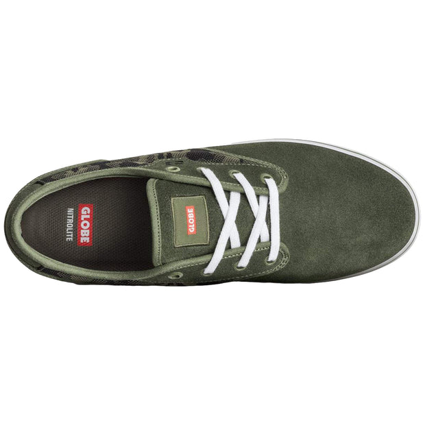 Surf Shop, Surf Clothing, Globe, Motley, Shoes, Olive/Knit