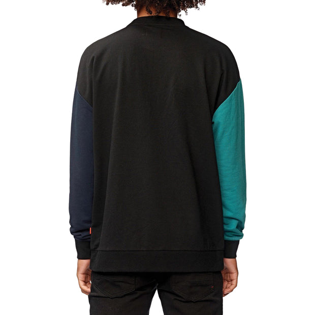 Surf Shop, Surf Clothing, Globe, Off Side Crew, Sweatshirts, Black
