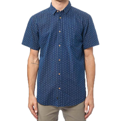 Surf Shop, Surf Clothing, Globe, Shallow SS Shirt, Shirts, Indigo