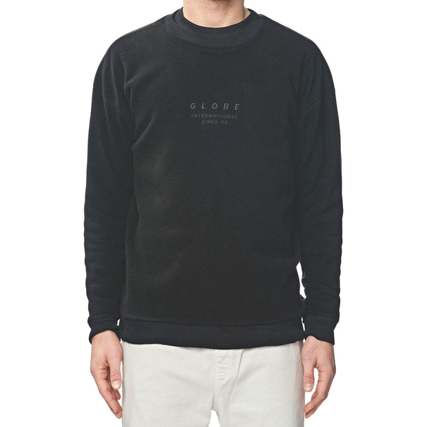 Surf Shop, Surf Clothing, Globe, State Crew, Sweatshirts, Black