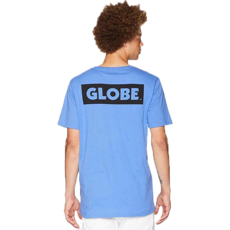 Surf Shop, Surf Clothing, Globe, Sticker II Tee, Tshirt, Atoll Blue