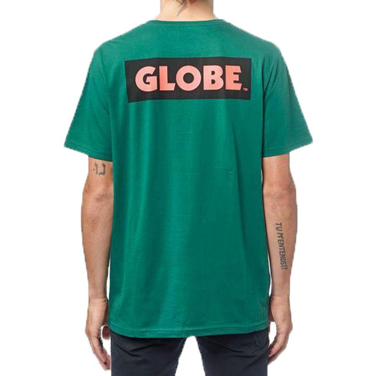 Surf Shop, Surf Clothing, Globe, Sticker II Tee, Tshirt, Emerald