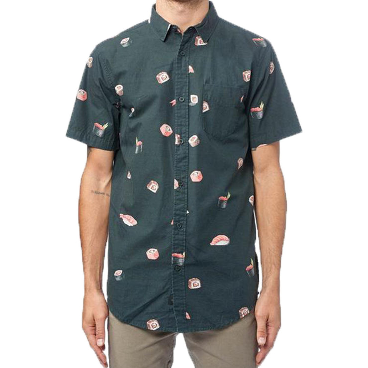 Surf Shop, Surf Clothing, Globe, Sushi SS Shirt, Shirts, Black
