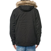 Surf Shop, Surf Clothing, Globe, Thermal Parka Jacket, Jackets, Black