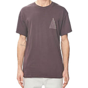 Surf Shop, Surf Clothing, Globe, UE Pyramid Tee, Tshirt, Wine