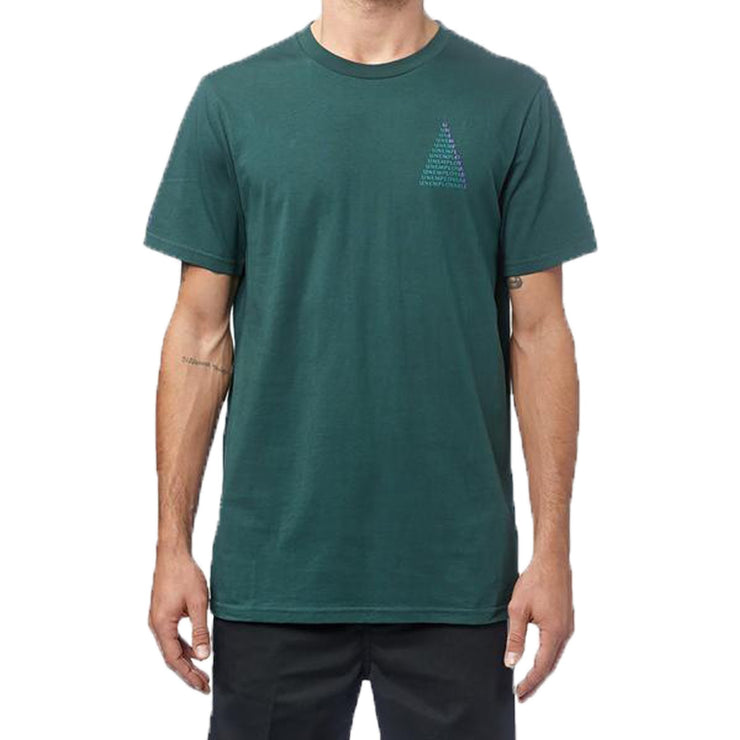 Surf Shop, Surf Clothing, Globe, UE Stack Tee, Tshirt, Bottle Green