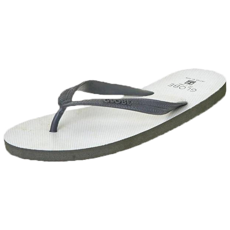Surf Shop, Surf Clothing, Globe, Void, Flip Flops, White/Charcoal