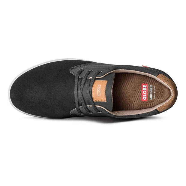Surf Shop, Surf Clothing, Globe, Willow, Shoes, Black/Woodsmoke Brown