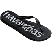 Surf Shop, Surf Clothing, Havaianas, Top Logomania, Flip Flops, Black