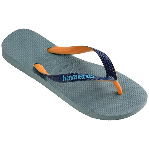 Surf Shop, Surf Clothing, Havaianas, Top Mix, Flip Flops, Silver/Blue