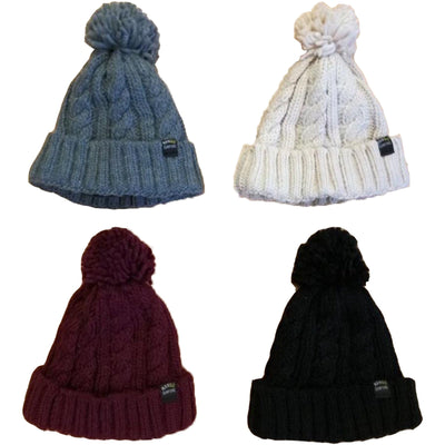 Surf Shop, Surf Clothing, Mango Surfing, Kids Mango's Bobble Beanie, Hats, All Colours