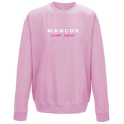 Surf Shop, Surf Clothing, Mango Surfing, Mango Basic Crew, Bright Colours, Sweatshirts, Baby Pink