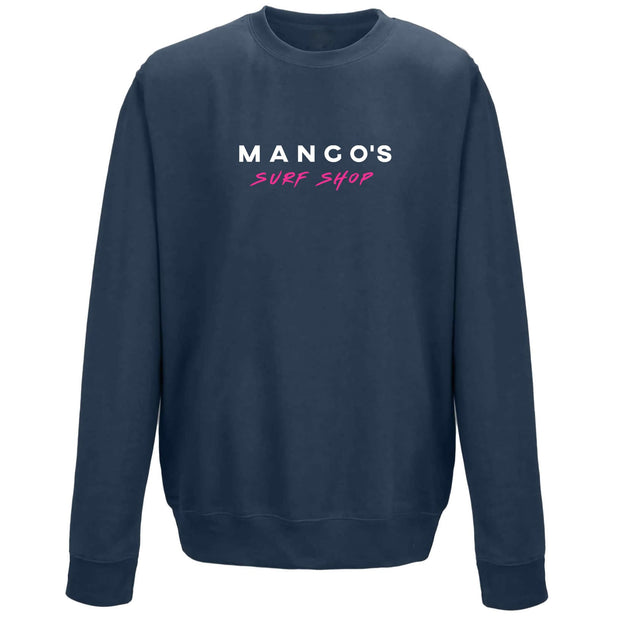 Surf Shop, Surf Clothing, Mango Surfing, Mango Basic Crew, Classic Colours, Sweatshirts, Airforce Blue