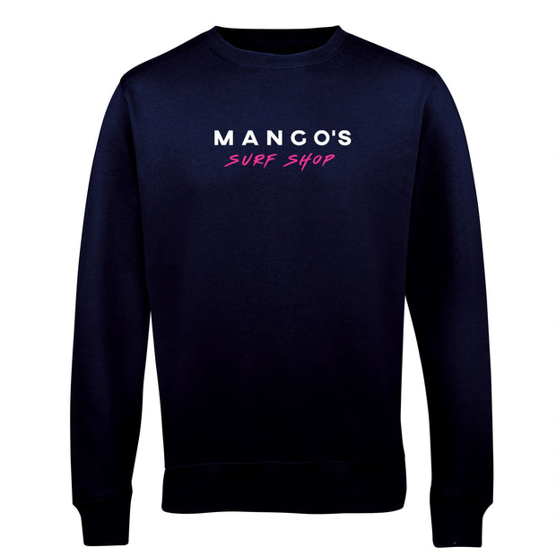 Black Mango Surfing Crew Jumper