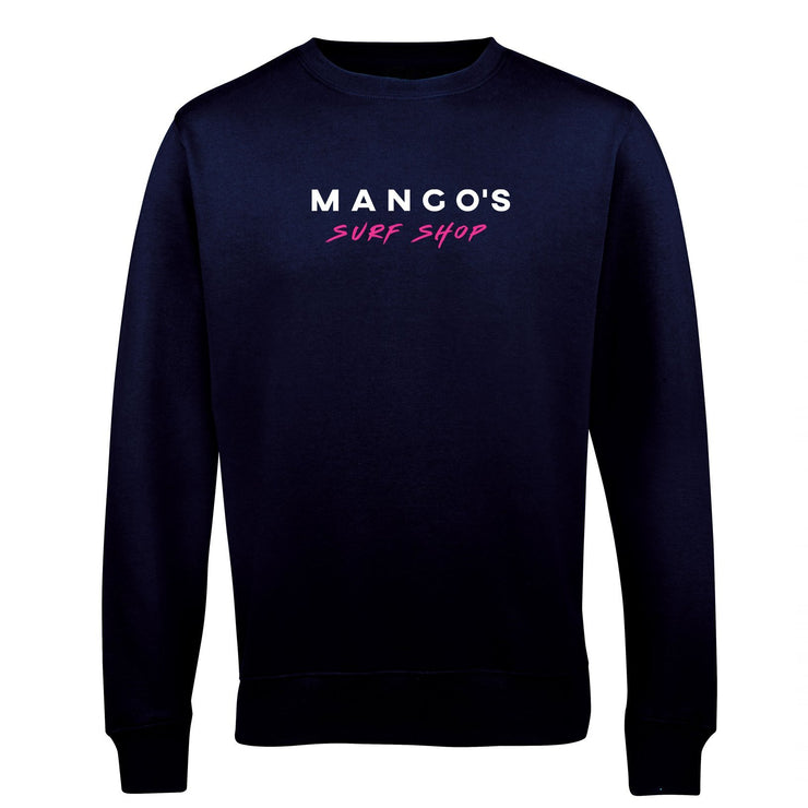 Surf Shop, Surf Clothing, Mango Surfing, Mango Basic Crew, Classic Colours, Sweatshirts, New French Navy