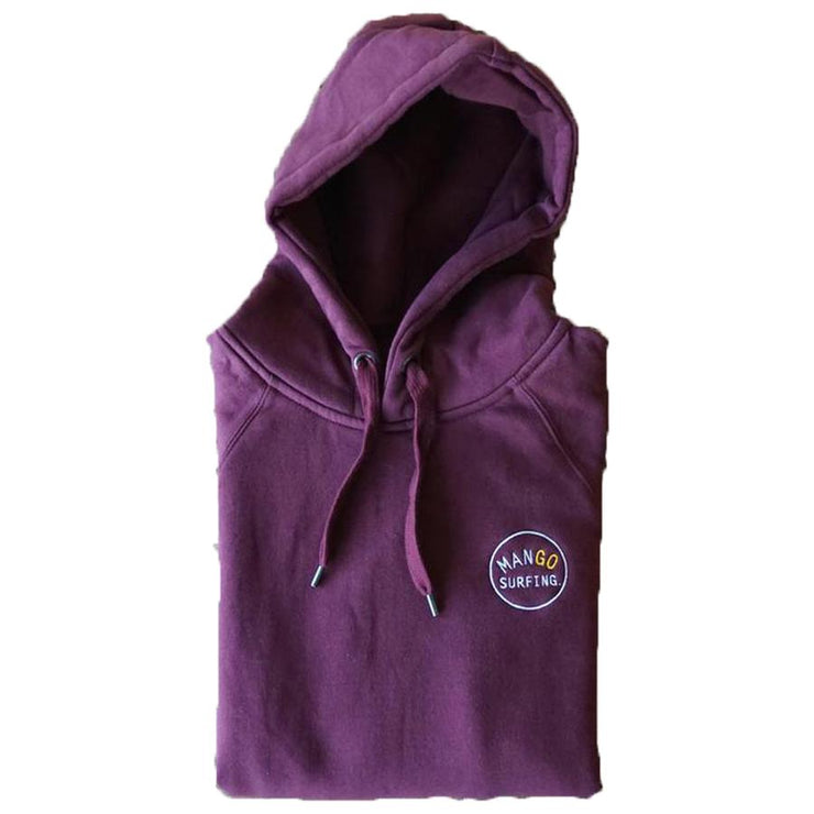 Surf Shop, Surf Clothing, Mango Surfing, Mango Classic Pullover Hoodie, Hoodies, Burgundy