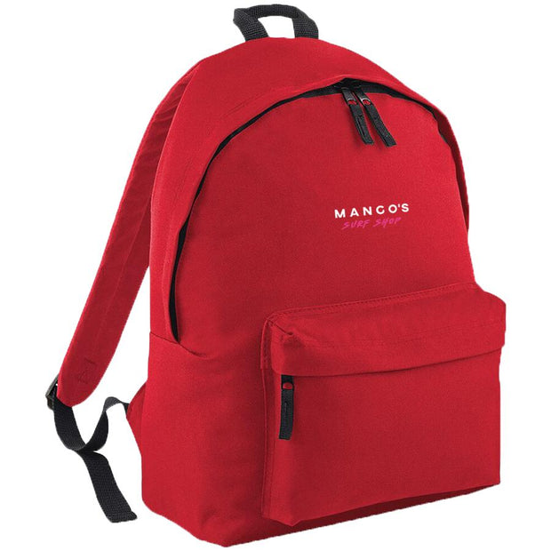 Surf Shop, Surf Clothing, Mango Surfing, New Mango Backpack, Bags, Classic Red