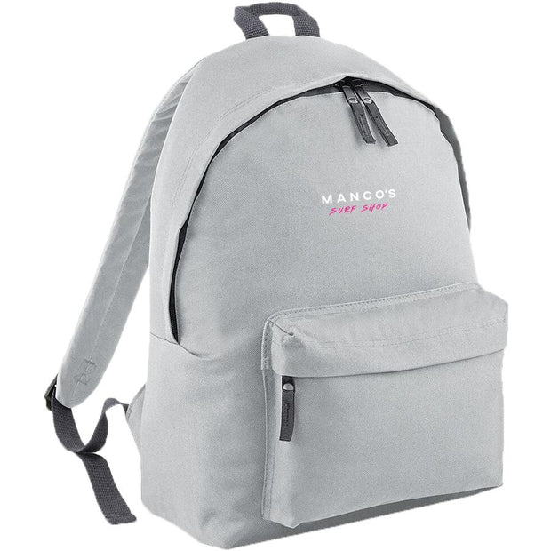 Surf Shop, Surf Clothing, Mango Surfing, New Mango Backpack, Bags, Light Grey