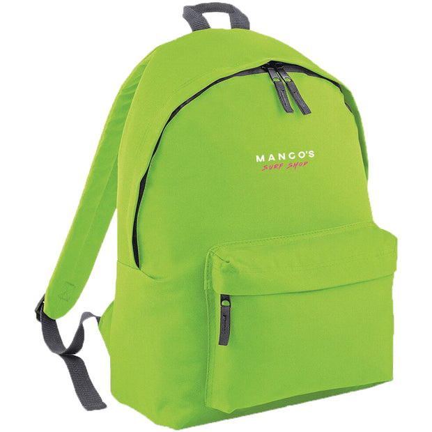 Surf Shop, Surf Clothing, Mango Surfing, New Mango Backpack, Bags, Lime Green