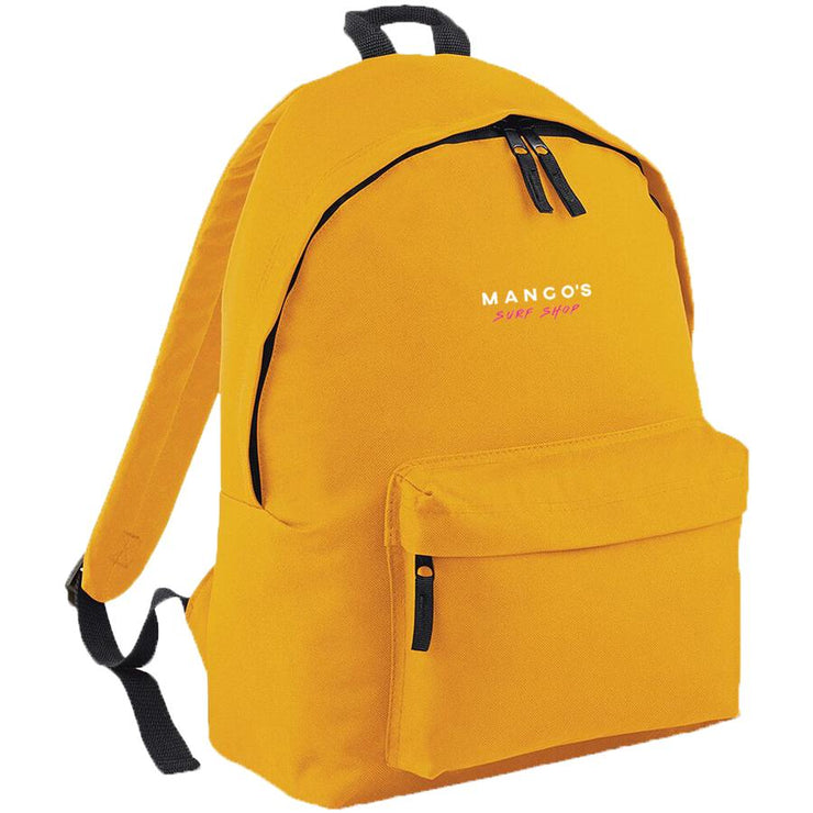 Surf Shop, Surf Clothing, Mango Surfing, New Mango Backpack, Bags, Mustard
