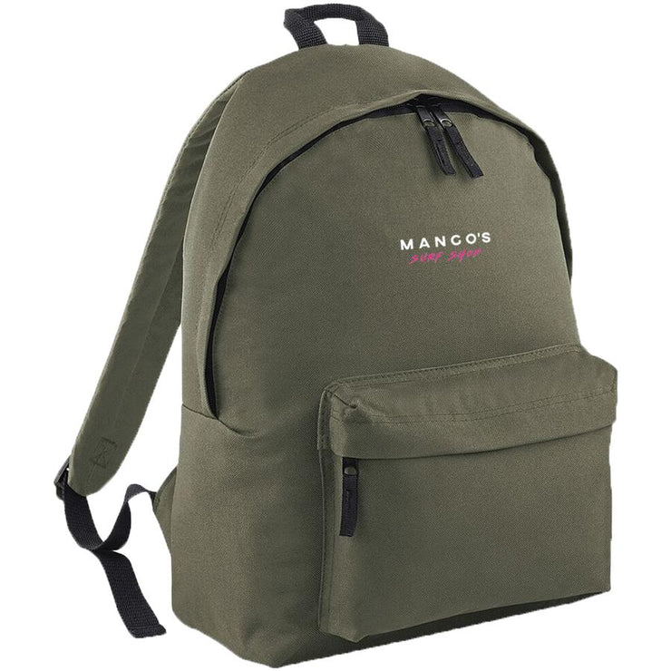 Surf Shop, Surf Clothing, Mango Surfing, New Mango Backpack, Bags, Olive Green