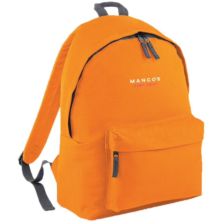 Surf Shop, Surf Clothing, Mango Surfing, New Mango Backpack, Bags, Orange