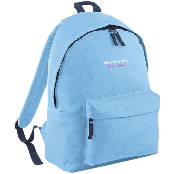 Surf Shop, Surf Clothing, Mango Surfing, New Mango Backpack, Bags, Sky Blue