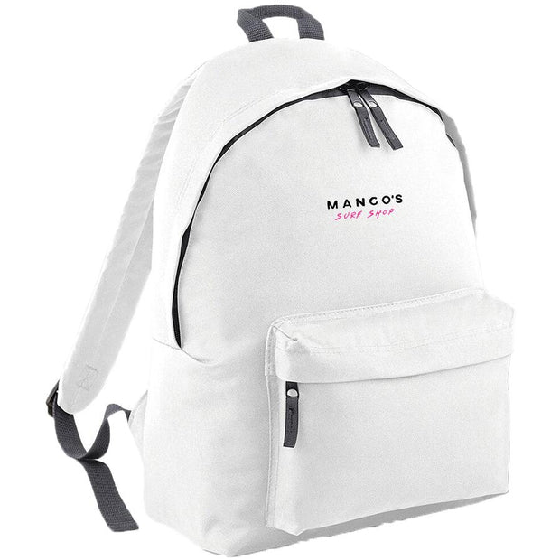 Surf Shop, Surf Clothing, Mango Surfing, New Mango Backpack, Bags, White
