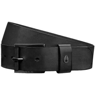 Surf Shop, Surf Clothing, Nixon, Americana Leather Belt, Belts, Black