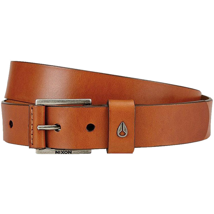 Surf Shop, Surf Clothing, Nixon, Americana Leather Belt, Belts, Saddle