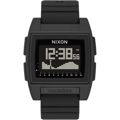 Surf Shop, Surf Clothing, Nixon, Base Tide Pro, Watch, All Black