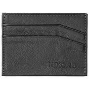 Surf Shop, Surf Clothing, Nixon, Flaco Leather Card Wallet, Wallets, Black