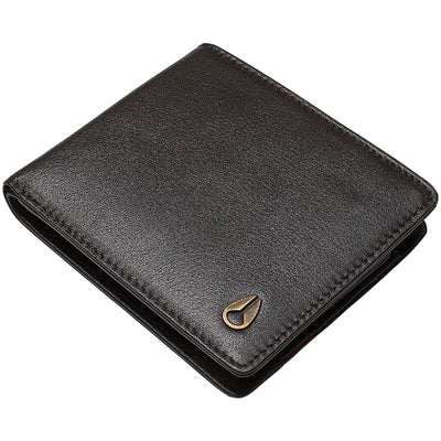Surf Shop, Surf Clothing, Nixon, Pass Leather Coin, Wallets, Brown