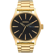 Surf Shop, Surf Clothing, Nixon, Sentry SS 42mm Watch, Watches, All Gold/Black