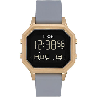 Surf Shop, Surf Clothing, Nixon, Siren SS 36mm, Watch, Light Gold/Grey