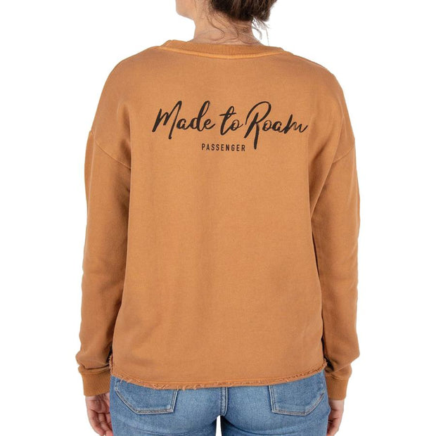 Surf Shop, Surf Clothing, Passenger, Belay Sweatshirt, Sweater, Ginger