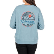 Surf Shop, Surf Clothing, Passenger, Footloose Sweatshirt, Sweater, Sea Blue Marl