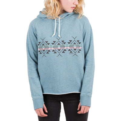 Surf Shop, Surf Clothing, Passenger, Little Leaf Hoodie, Hoodies, Real Teal Marl