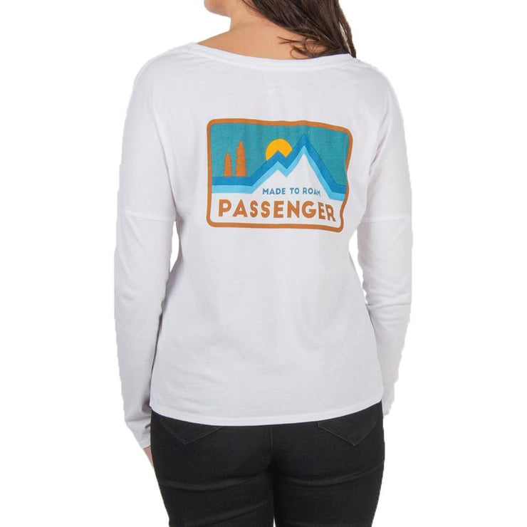 Surf Shop, Surf Clothing, Passenger, Majestic Long Sleeve T-Shirt, Tshirts, White
