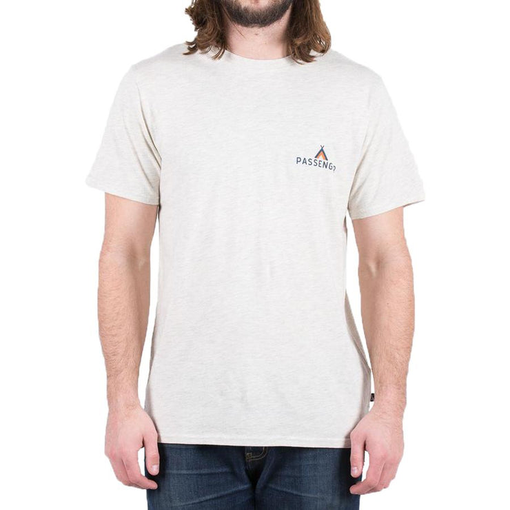 Surf Shop, Surf Clothing, Passenger, Roamer, Tshirts, Cream Marl