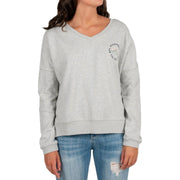 Surf Shop, Surf Clothing, Passenger, Sassafras, Sweatshirt, Grey Marl